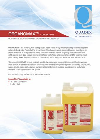 OrganoMax- Quadex Professional