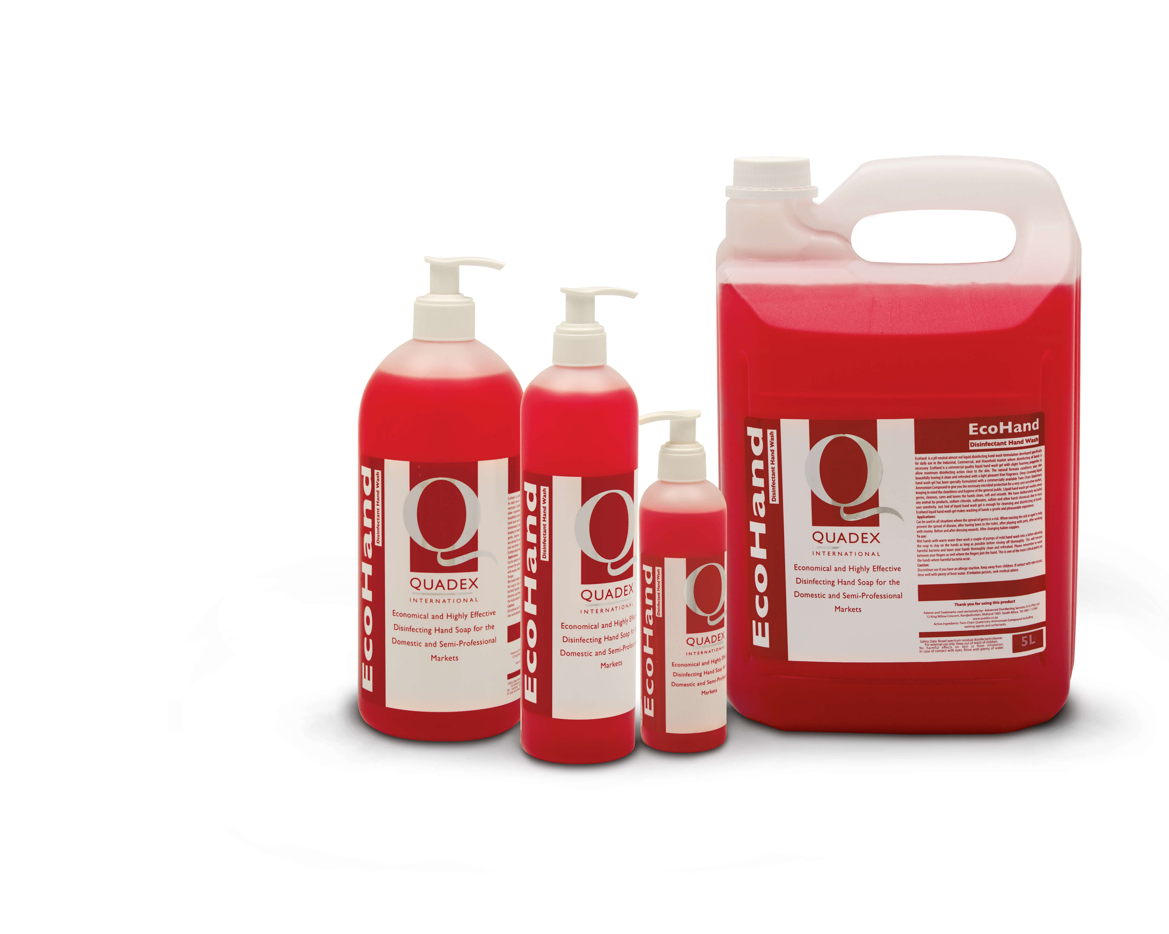 EcoHand - LIQUID SANITISING HAND WASH