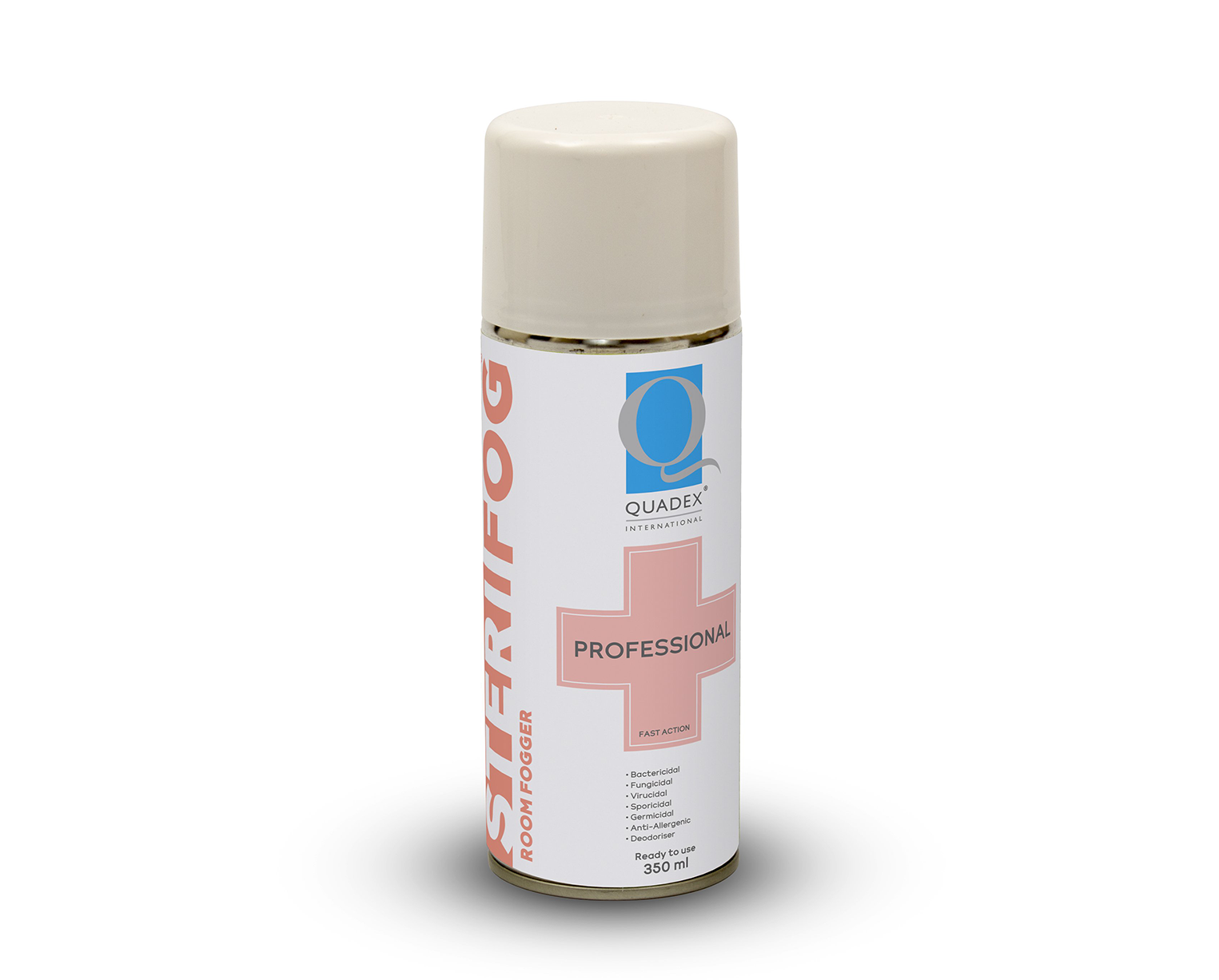 STERIFOG® TWO STEP PROCESS - HIGH LEVEL DISINFECTING FOGGER & SPRAY