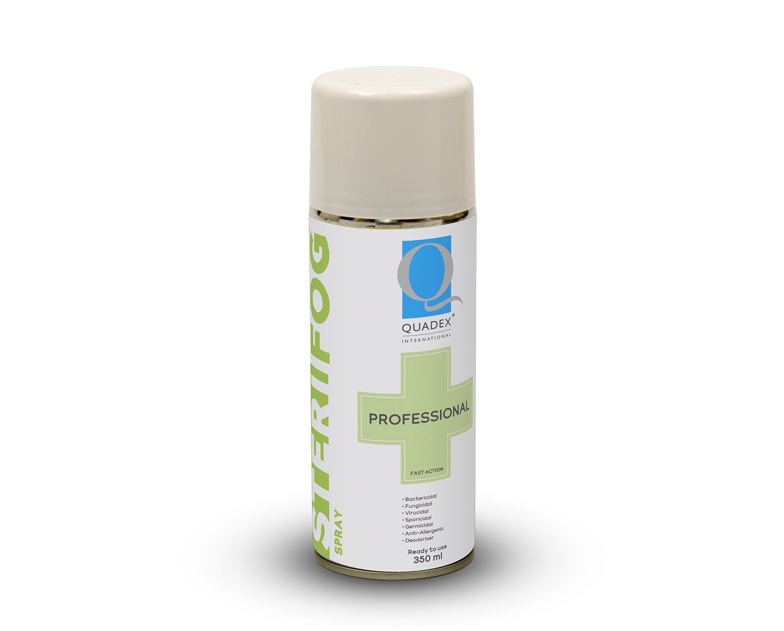 STERIFOG® THREE STEP PROCESS - HIGH LEVEL DISINFECTING FOGGER & SPRAY